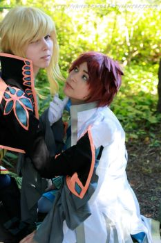 Tales of Graces- Richard and Asbel by VandorWolf