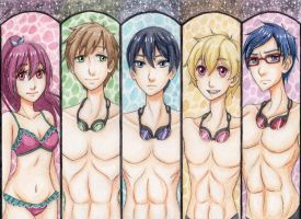 Free! Bookmark Set by purpletoddy