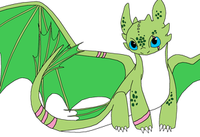 New HTTYD OC by RaindropLily