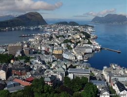 Alesund, Norway by flavionet