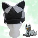 Poochyena Fleece Hat by Demi-Plum
