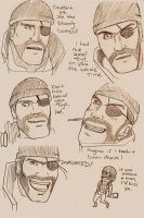 Faces of Demoman by tsunamisilvers