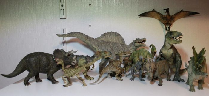 Papo Dinos Collection by Aayrick