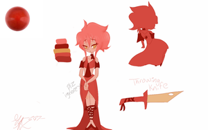 Contest Entry: Red Coral Pearl by PastelPastryClown