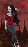 Marceline: Vampire Queen by quietexotica