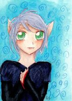 ACEO: Tomboy-ish cat girl by xxarishaxpxx