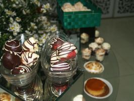 fresas y chocolate by Ncelix