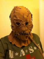 Scarecrow Mask by BlitzkriegEXSTACY