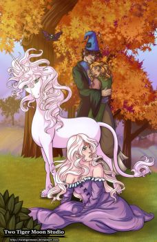 The Last Unicorn by TwoTigerMoon