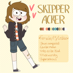 Skipper ref by cipher-pines