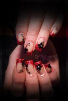 Nail art 224 (Gel nails) by ChocolateBlood