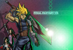Final Fantasy VII Wallpaper by AIBryce