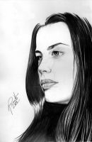 Liv Tyler by GisaPizzatto