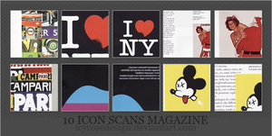 IconScansMagazine_byme by icyrosedesign