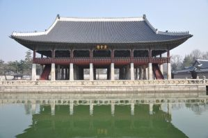 Part of King's house in Korea (Kyung Bok Goong) by chokocake88