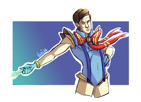 Sailor Gallifrey the Eleventh by TheVioletPanda