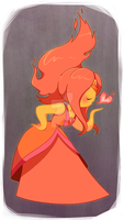 Flame princess by SakikoAmana