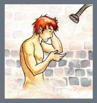 George: Shower Scene by The-Starhorse