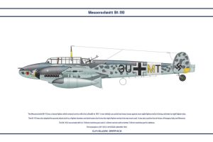 Bf 110 D-3 ZG26 2 by WS-Clave