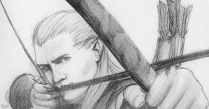 Legolas by yohlenyaoilover