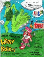 A SMASHING Wacky Packages Promotion by Josiah-Shockency-JCS