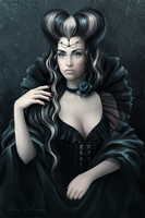 Queen of Spades by sharandula