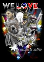 We love australia by kresnotic