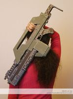 Aliens M41A pulse rifle by juzo-kun