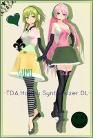 . : TDA Happy Synthesizer Luka and GUMI dl : . by ChocoFudge98
