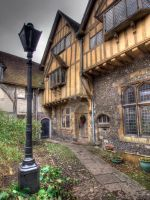 Cheyney Court, Winchester, HDR by Dogbytes