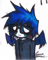 the most emo drawing ever by Kite-Of-Azure-Flame
