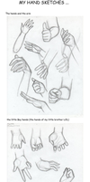 old hand sketches and a little tip by Yukyona-G-R