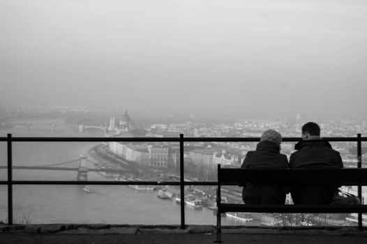 Couple in Budapest by Sicchan