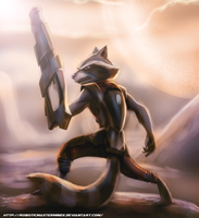 Rocket Raccoon by RoboticMasterMindX