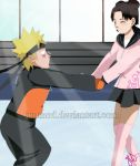 NaruTen: Giving a Helping Hand by JuPMod