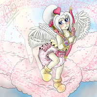 Scoot Scoot Lil Cupid by AbeSedecim