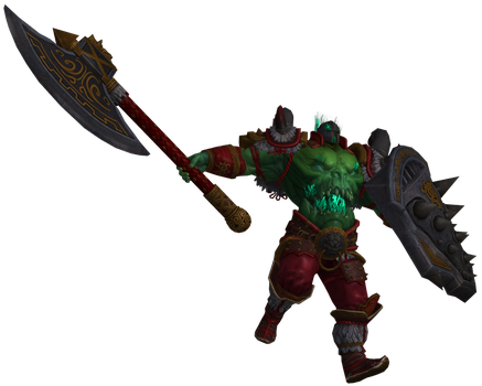 SMITE Renders - Xing Tian Secondary by Kaiology