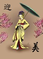 Geisha Commission - Final 125res by ckatt01