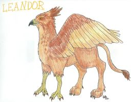 Leandor the Griffin by Kirara91