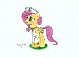 Lieutenant Fluttershy, the Element of Kindness by UlyssesGrant