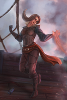 Pirate mage by R-Aters