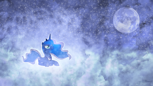 Princess Luna - The Silence of the Night by Jamey4