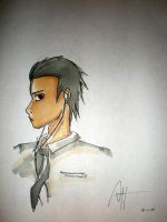 Uchiha- slicked back hair by deathchain