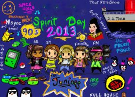 Spirit Day T-Shirt Design~ by AllThesePiecesOfMe