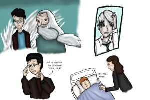 Harry Potter HBP fave scenes by chibiviolinist