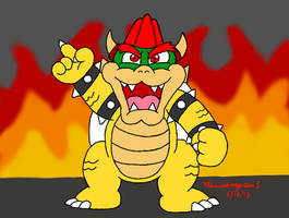 Bowser King of Awesome by MarioSimpson1