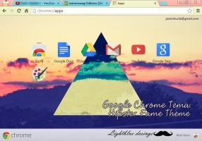 Tema google chrome: Hipster fame by Jazminswag-Editions