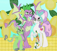 The Draconic Family by MagicandMysteryGal