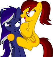 Moonglow and Sunbreeze Vector by TheFrostSpark