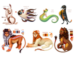 Adoptables (SOLD OUT) by Rainroad